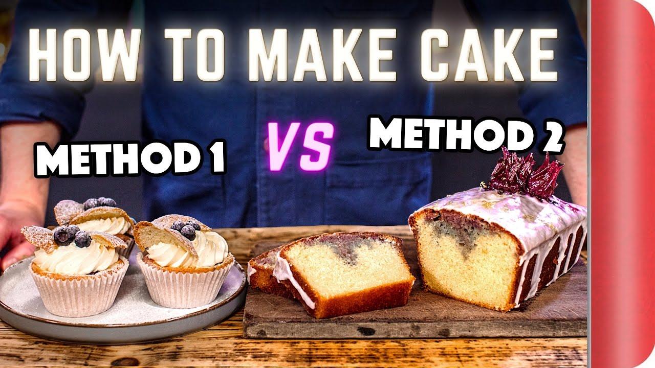 2 Easy Ways to Make Cake… Like a Chef