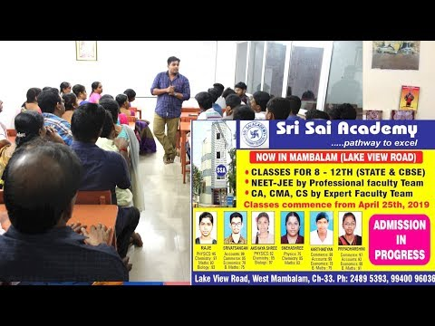 Xxx Mp4 Quot Excellent Tution Wonderful Teaching And Good Facility Quot Sri Sai Academy West Mambalam 3gp Sex