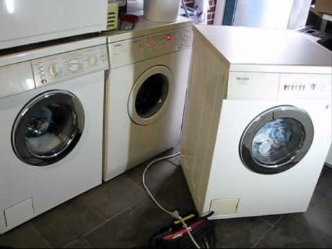Washday with 3 washers!