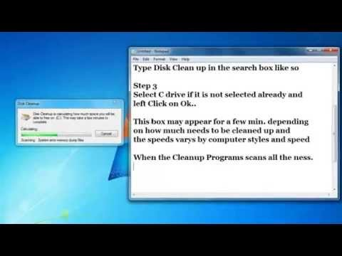 How to Run Disk Cleanup in Windows