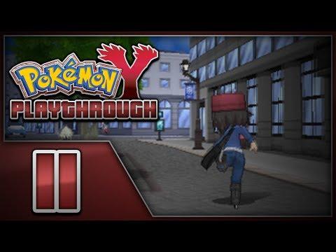 Pokémon Y Playthrough - Episode 11 | Exploring Lumiose City