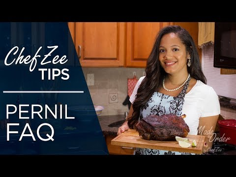 Pernil FAQ's | How To Season A Pernil | Cooking Tips | Made To Order | Chef Zee Cooks