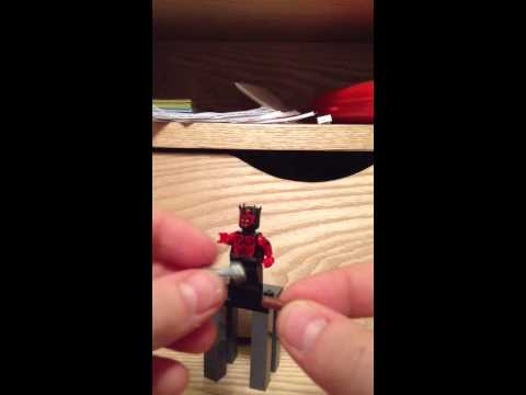 Lego Star Wars how to make a double lightsaber