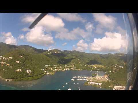 IMT's helicopter flight over the BVI