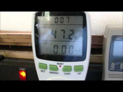 Part 1: Ensupra Power Usage Monitor review / Kill-a-watt / WANF