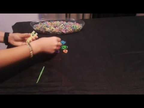 How to make a Rainbow Loom Band Bracelet