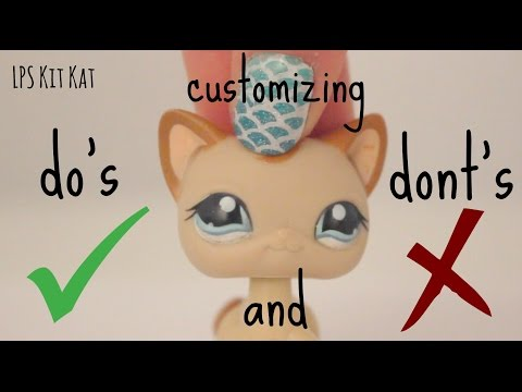 LPS Customizing Do's And Dont's + Tricks I use