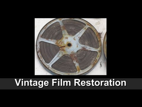 FILM IRONING - How to Restore Crumpled Up Vintage 8mm Movie Projector Film