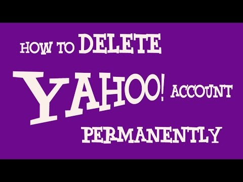 How To Delete Yahoo Account Permanently | Deactivate Yahoo Mail Account Permanently