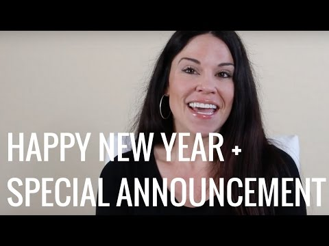 SPECIAL ANNOUNCEMENT - HAPPY NEW YEAR - Christina Carlyle