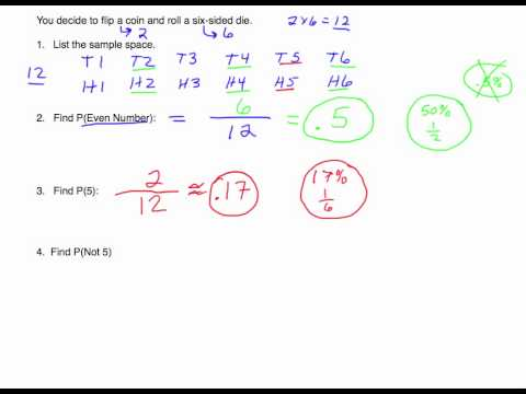 Probability: More with Sample Space and Complement