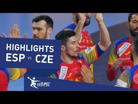 Highlights | Spain vs Czech Republic | Men's EHF EURO 2018