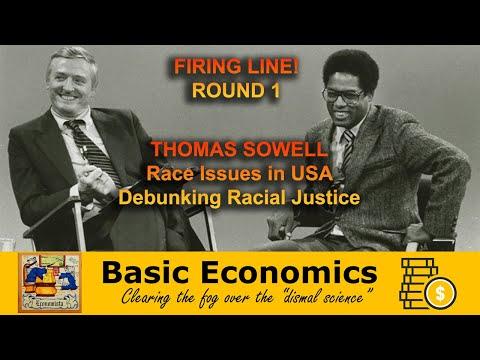 Firing Line - Thomas Sowell w/ William F. Buckley Jr. (1981)