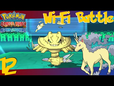 Pokémon Omega Ruby & Alpha Sapphire Wi-Fi Battle #12 vs. CHINGAME!!!! - Poison Heal To This HP Ice