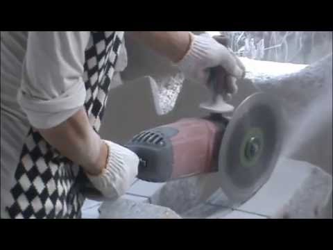 DAYU Angle grinder for stone cutting and grinding
