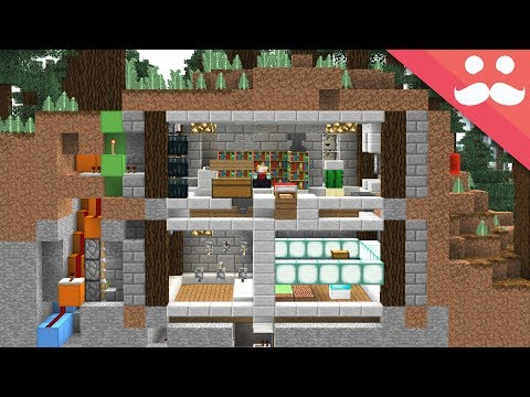 Download The 3 Hour SECURE MINECRAFT BUNKER!