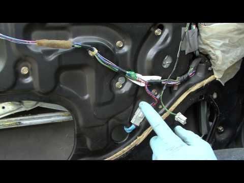 Honda How To CR-V door handle and window motor repairs