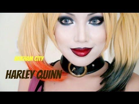 Harley Quinn Make-up Tutorial