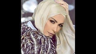 Amal Hijazi Lebanoni ex-singer first time Islamic Hijab & Islamic Poem  ma sha Allah