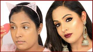 Easy BOLD KAJAL Look - Festive Makeup for Beginners in Hindi | Shruti Arjun Anand