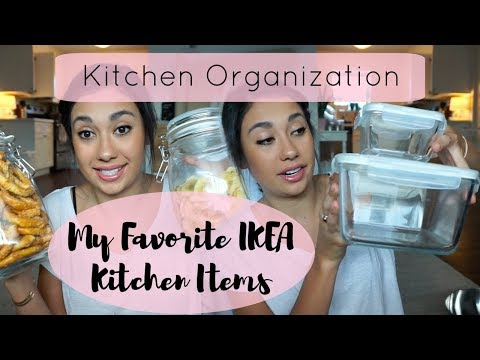 MY FAVORITE IKEA KITCHEN ITEMS | Small Space Kitchen Organization