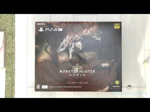 PS4 PRO Monster Hunter World Liolaeus Edition (Amazon Japan - Buy Now)