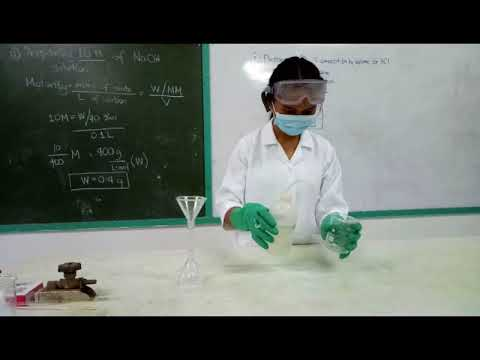 How to prepare 10M of NaOH (Sodium Hydroxide) solution