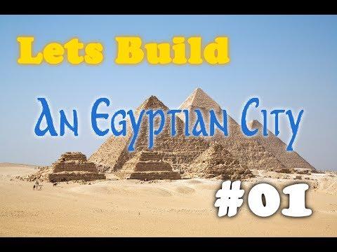 Lets Build: An Egyptian City - Ep.1 Lighthouse