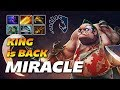 Miracle Epic Pudge KING IS BACK Dota 2 Pro Gameplay