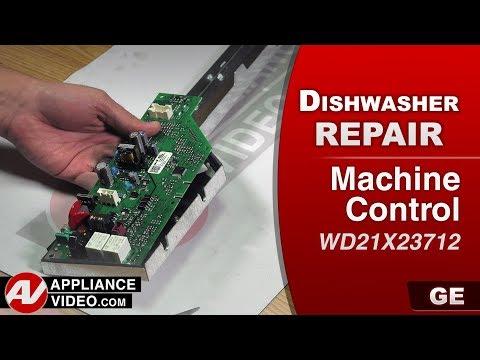 GE Dishwasher - Machine Control problem - Diagnostic & Repair