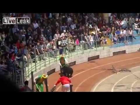 China : Circus bear attacks and kills circus monkey