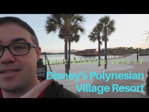Polynesian Village Resort Tour