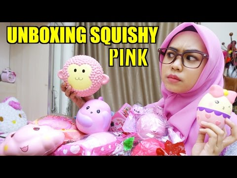 UNBOXING SQUISHY PINK - Ria Ricis