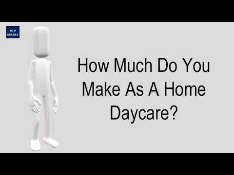 How Much Do You Make As A Home Daycare?