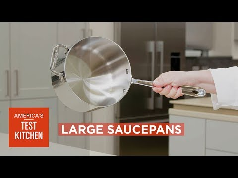Equipment Review: Best Large Saucepans & Our Testing Winners