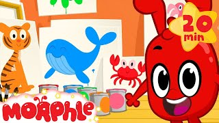 Learn Colors With Morphle! Educational Color Videos For Kids