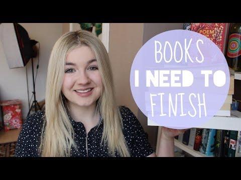 Books I Need to Finish