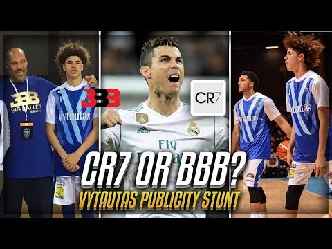 How Vytautas Chose The BALL BROTHERS & BBB Over CRISTIANO RONALDO!