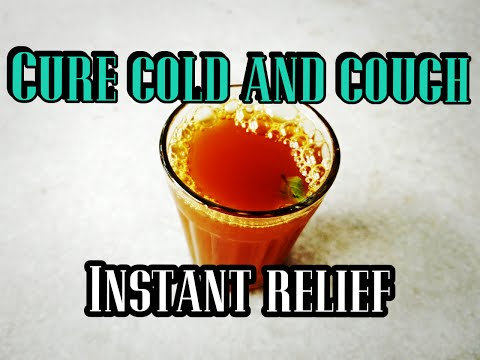 How to cure COLD and COUGH | Ayurvedic kashayam home remedy