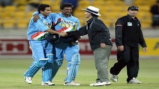 Yuvraj Singh and Zaheer Khan Match Winning Partnership vs New Zealand   VICTORY FROM JAWS OF DEFEAT