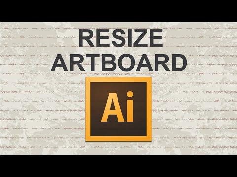 Video : How to change adobe illustrator artboard size (resize)