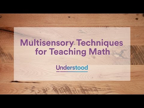 Multisensory Math Strategies for Parents