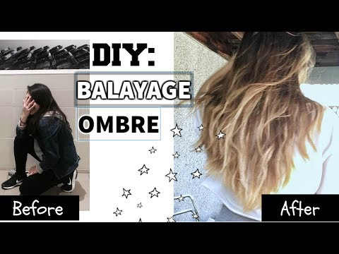 DIY: How to Balayage Ombre / Ombre Hair at Home