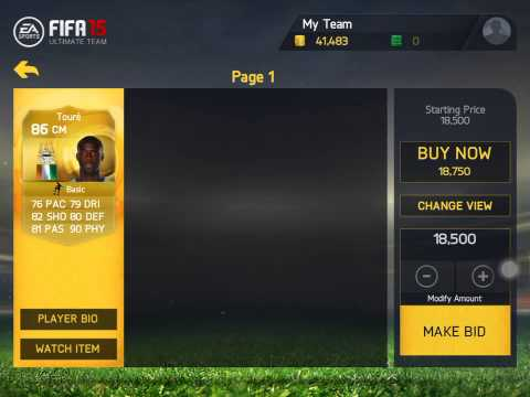 Fifa 15 ios trading method - 50k in 10minutes
