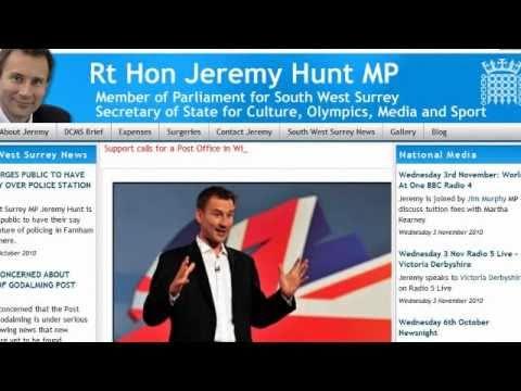 Open letter to Jeremy Hunt MP regarding Peter Popoff