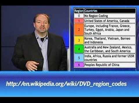 DVD Region Codes