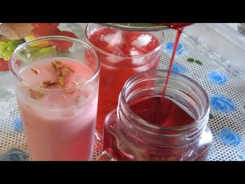 Shaahi Gulaab Sharbat   Rose Syrup recipe  Ramzaan Special
