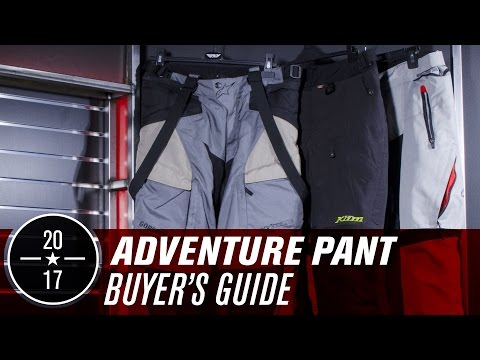 Best Adv/Dual-Sport Pants | 2017