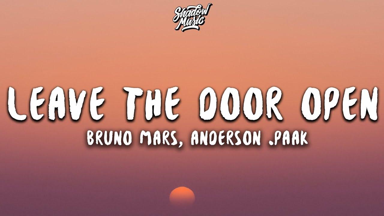 Bruno Mars, Anderson .Paak - Leave The Door Open (Lyrics)