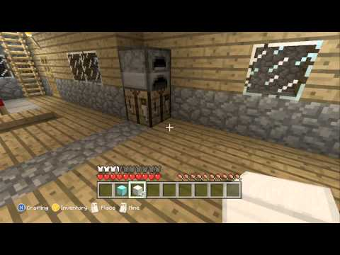 Minecraft: Xbox 360: How to duplicate ore blocks!